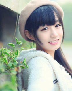 清纯的治愈系美女图片,清水出芙蓉,好喜欢她的笑容