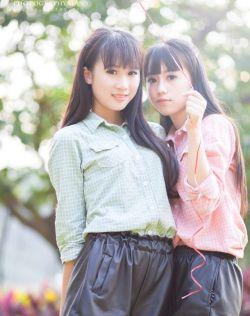[每日小清新06-28]清纯校花两姐妹梦和豆豆