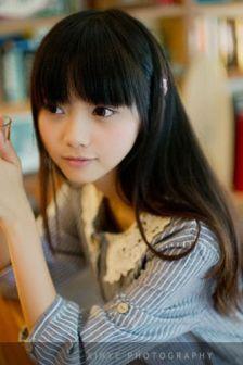 清纯少女写真,猫の秋装