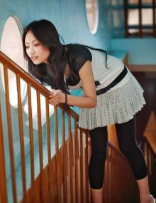 2009超女刘惜君靓丽写真