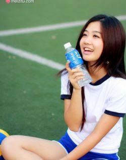 最美清纯唯美校花,阳光排球少女