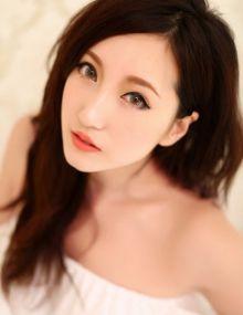 傅美美纯白世界雪肌美腿