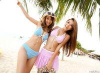 快乐的比基尼:张瀞尤 魏来 莎莎沙滩外拍