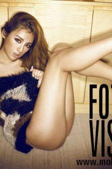 模特彭梦:长腿美女性感撩人风姿无限