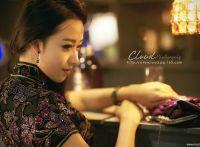 酒吧里的旗袍气质女郎,成熟美女的诱惑