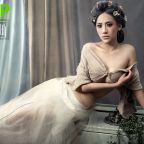 模特郑邱芊露乳性感美腿诱惑写真大片