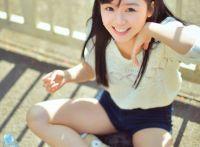 小清新,甜美的阳光机车女孩泰国外拍