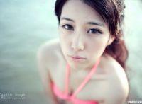 妃小美海边比基尼纯美动人