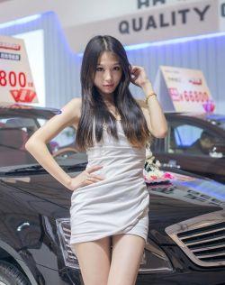 很有气质的车展模特[2013年11月拍摄]