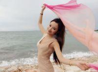 孙心娅巴厘岛:美人美景共辉映